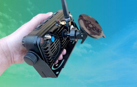 TM-7700 IP rádió 4G LTE adóvevő POC rádió